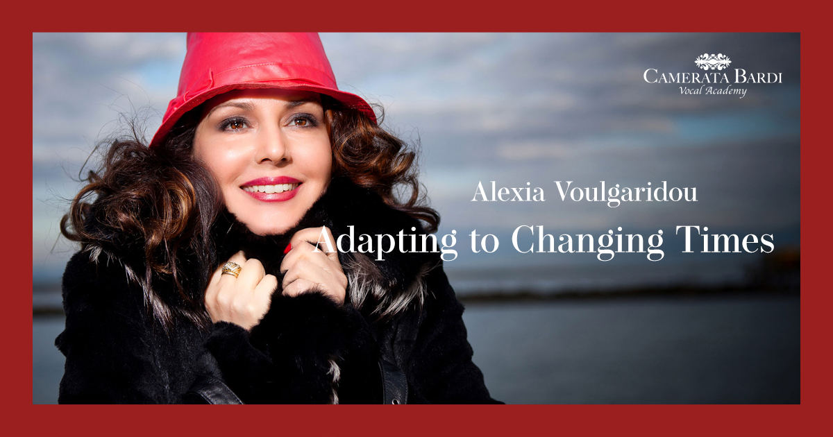 Adapting to Changing Times with Soprano Alexia Voulgaridou