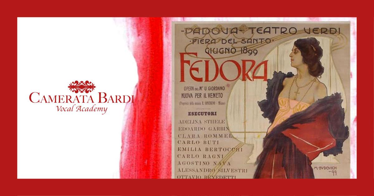Teatro Grattacielo presents UMBERTO GIORDANO'S  FEDORA