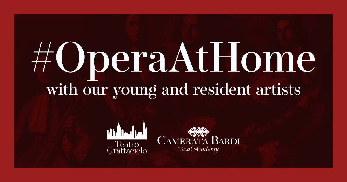 Camerata Bardi Vocal Academy presents #operaathome