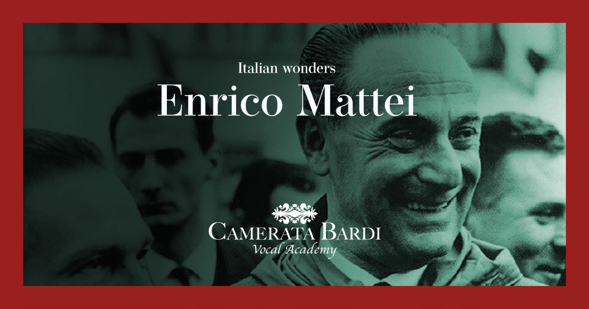 The story of Enrico Mattei founder of ENI