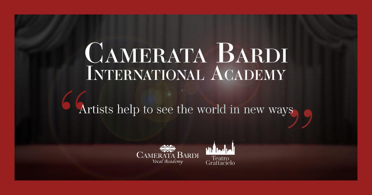 Camerata Bardi  International Academy