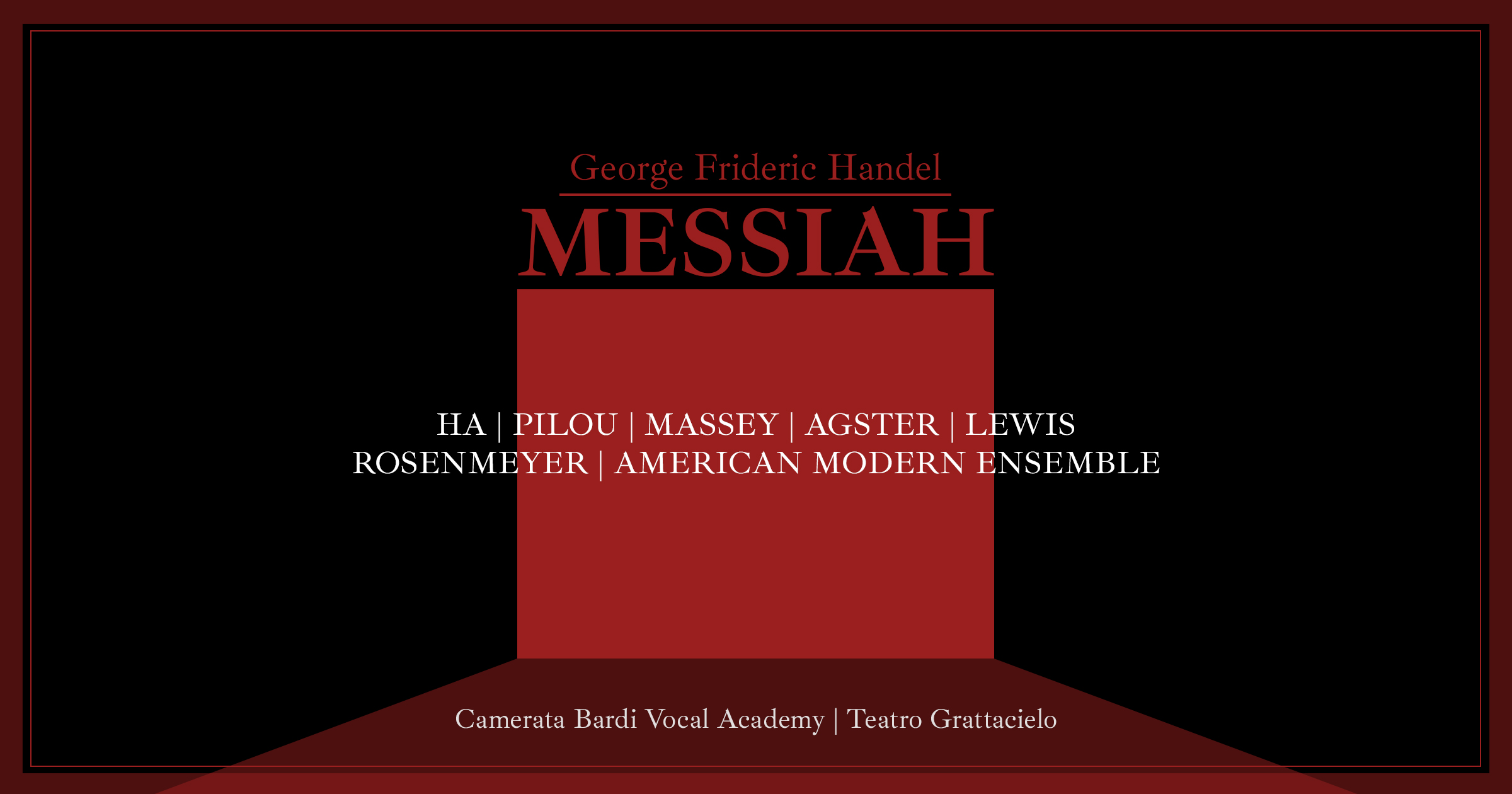 George Frideric Handel | MESSIAH | First Part
