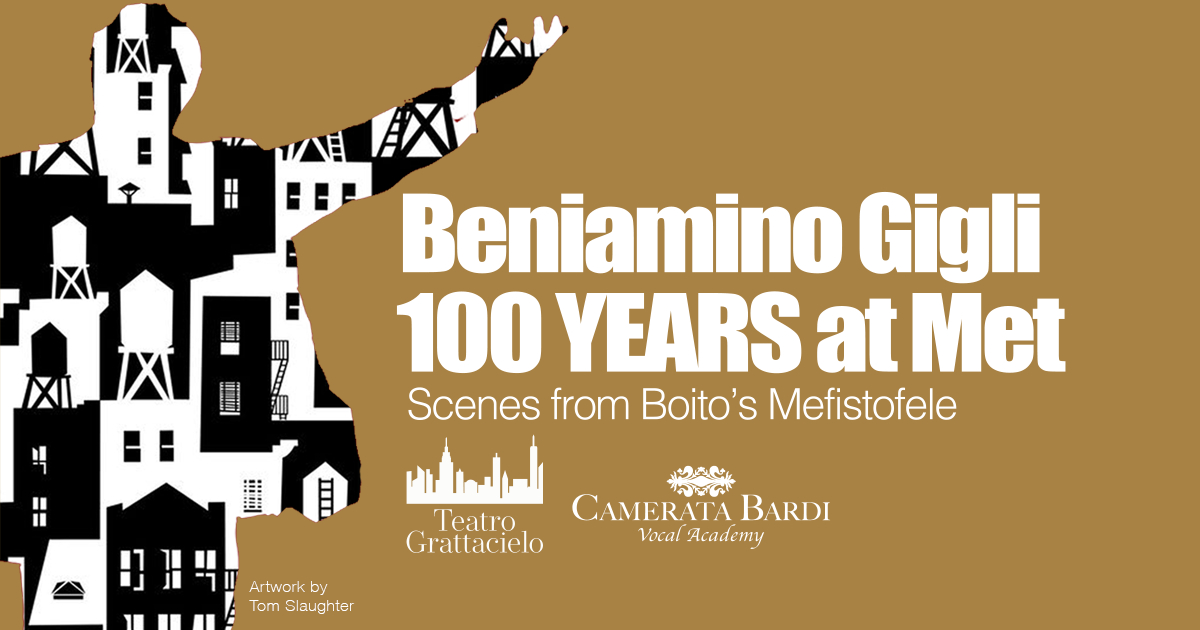 Beniamino Gigli 100 years at the Met, scenes from Boito's Mefistofele